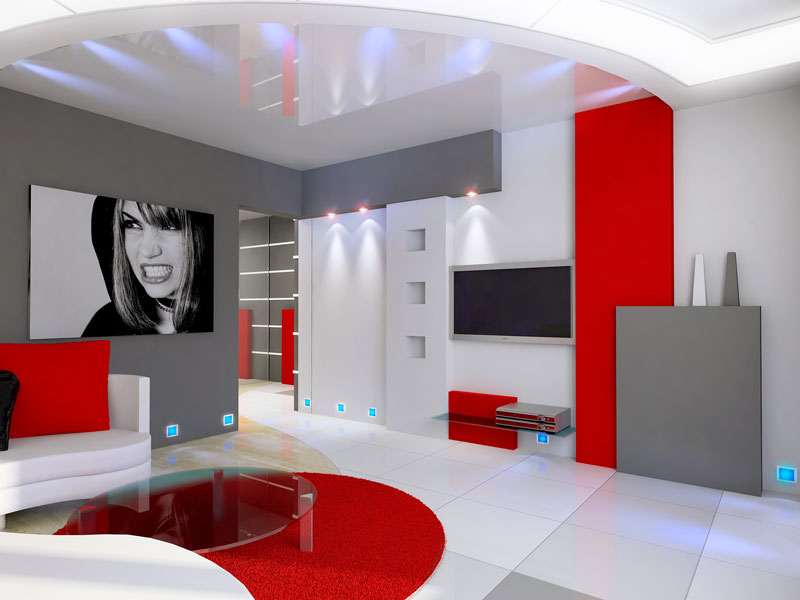 Am nagement d coration int rieur design ille et vilaine 35 am nager r - Lumiere salon decoration ...