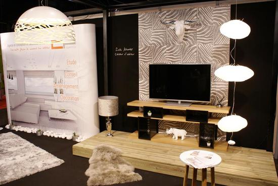 Stand DP agency Salon de l'habitat Fougères